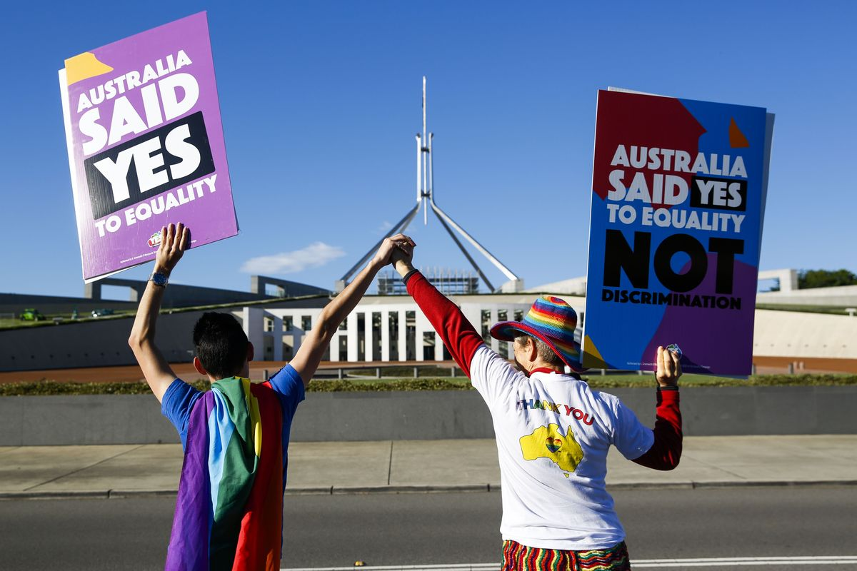 Same-Sex Marriage Legalized in Australia to Jubilation