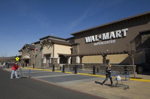 A Wal-Mart Stores Inc Store