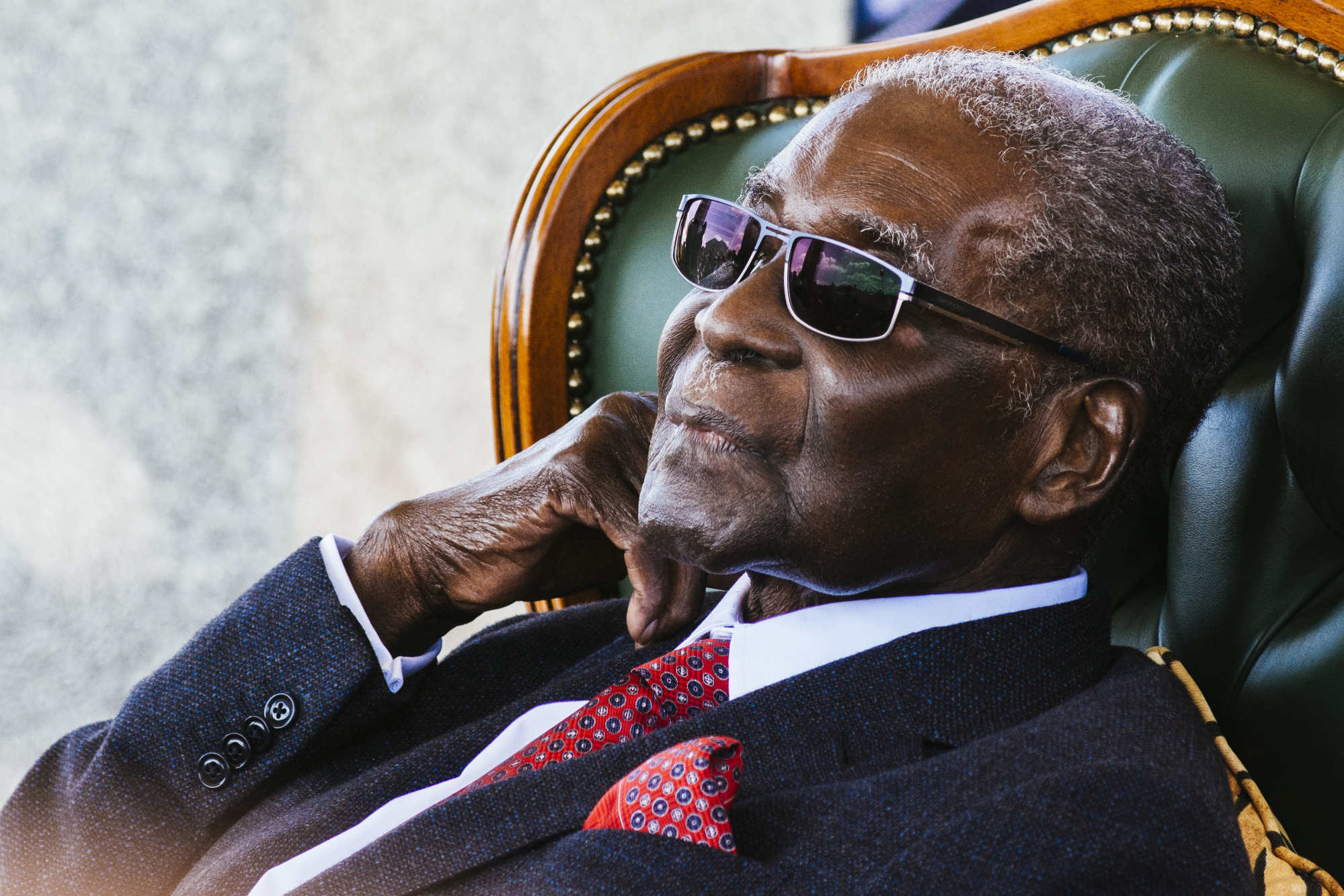 Former President Of Zimbabwe Robert Mugabe Speaks Ahead Of General Election