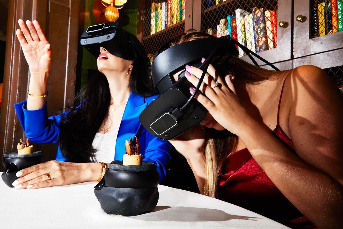 Virtual Reality Is the Latest Dinner Party Trick