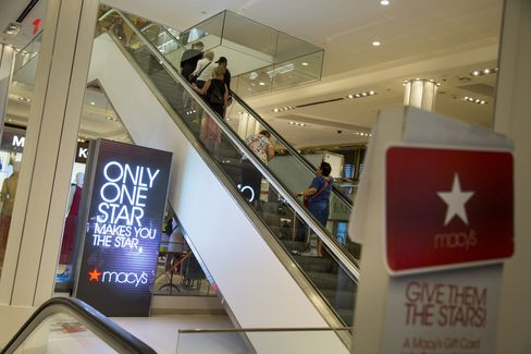 Shopper's At Macy's Ahead of Quarterly Earnings Release