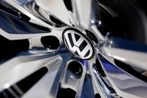 Volkswagen benefited as car demand in Europe accelerated at the fastest pace in 5 1/2 years, softening the blow from a slowdown in China, its biggest market.