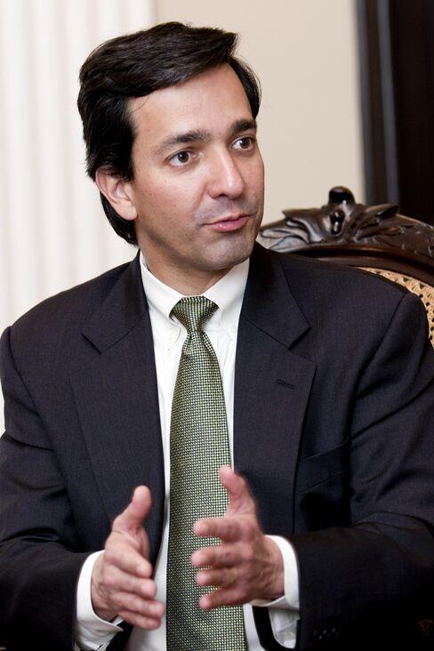 Puerto Rico's Governor Luis Fortuno