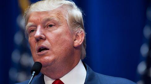 Donald Trump is pictured June 16, 2015.