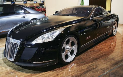 The Maybach Exelero was introducedin 2004 and even then was notable for its extremely high price and famous reputed owner (the rapper Birdman; it also appeared in the Jay Z music video Lost One). Top speed is 218 mph, and it can hit 60 mph in 4.4 seconds. Price: $8 million.