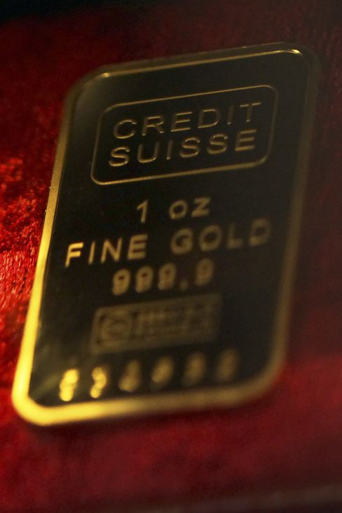 Gold May Stall Near Record on Bollinger Band