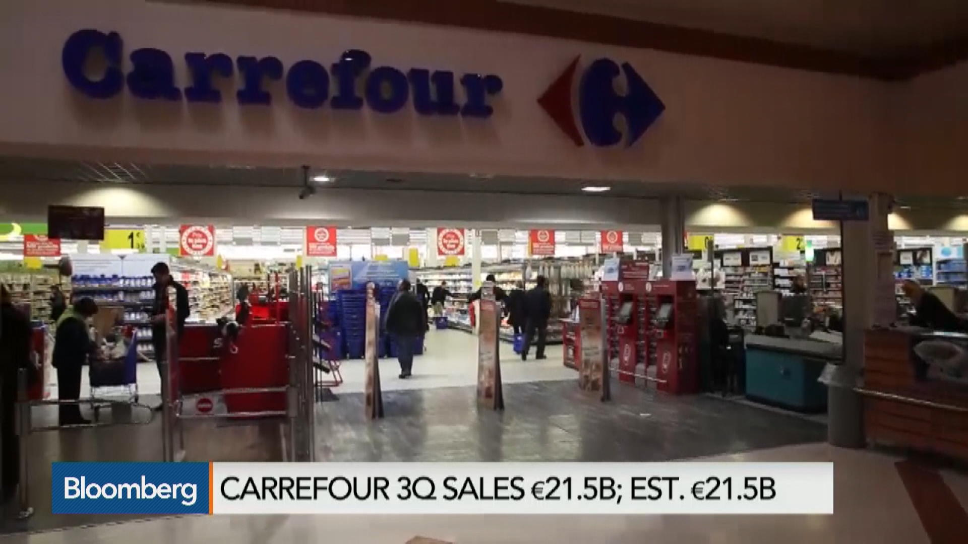 Ca En Paris Stock Quote Carrefour Sa Bloomberg Markets