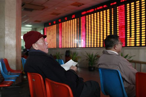 Chinese Stock Accounts Empty Most Since July 2011 Before Rally