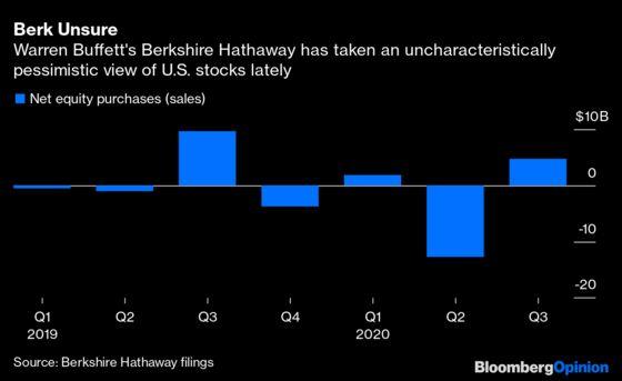 Is Warren Buffett A Stock Buyer Or Seller? Yes.
