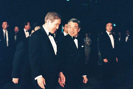 Japan'sEmperor Akihito Steps Down: A Life in Pictures