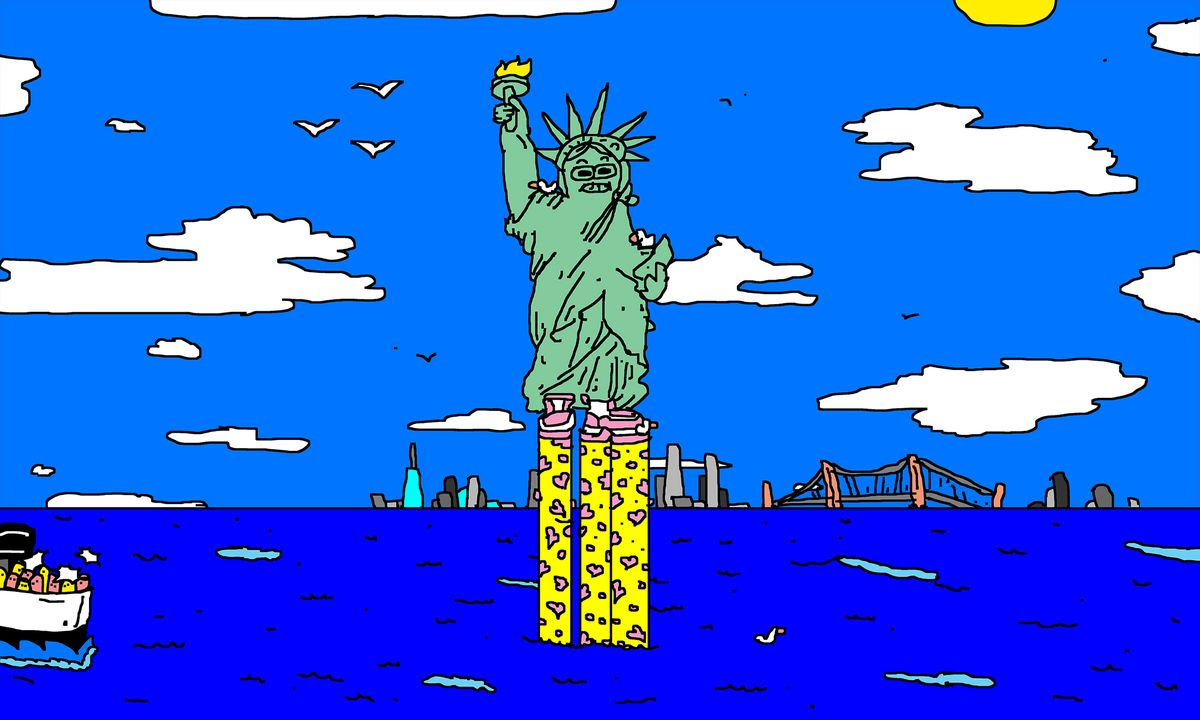 Saving the statue of liberty from climate change bloomberg how do you save the statue of liberty from drowning biocorpaavc
