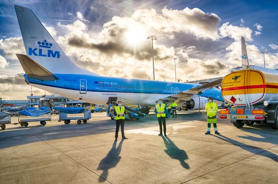 KLM Makes First Regular Flight With Sustainable Synthetic Fuel
