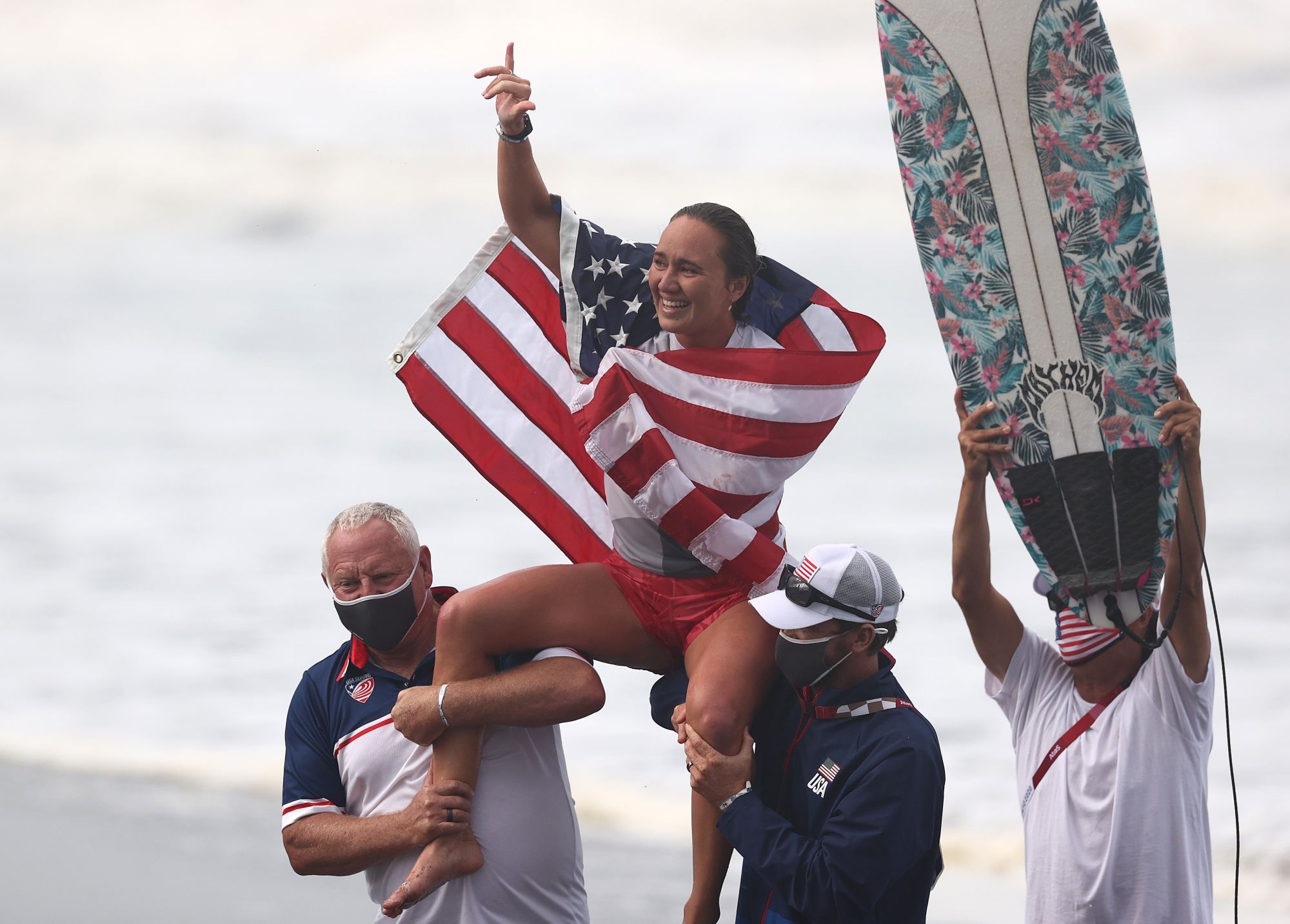 Olympic Gold Medalist Carissa Moore On New Surfing Title