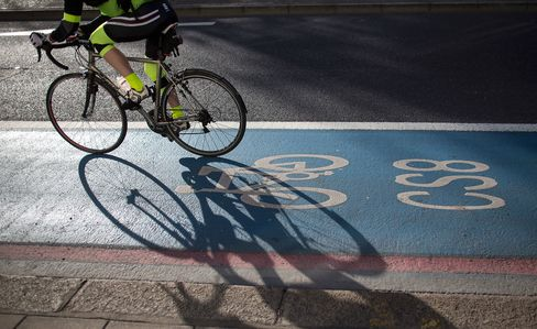 London cycling.