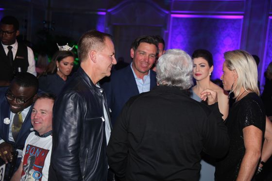 Paul Tudor Jones Hits Palm Beach With Mick Mulvaney by His Side