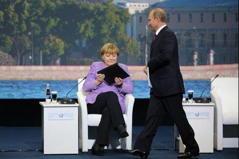 Merkel & Putin