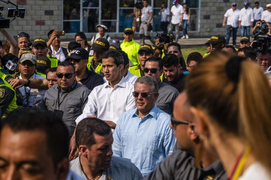 Guaido Hints at More Radical Steps to Topple Maduro as Aid Burns