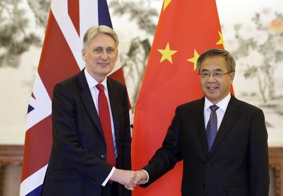 Rising Tensions With U.K. 'Regrettable,' China Tells Hammond