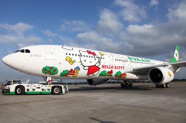 EVA Air's Hello Kitty jets