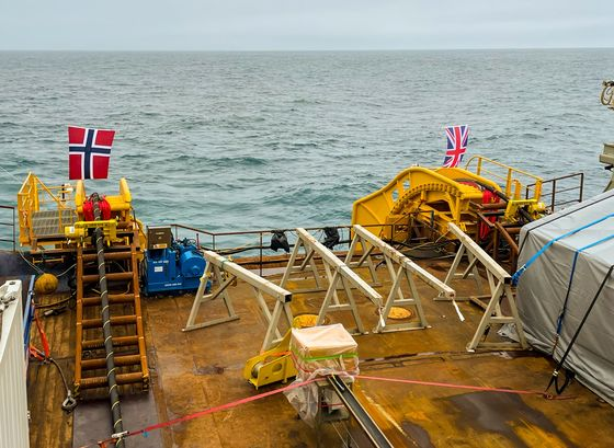 Power-Starved U.K. Thrown World's Longest Lifeline From Norway