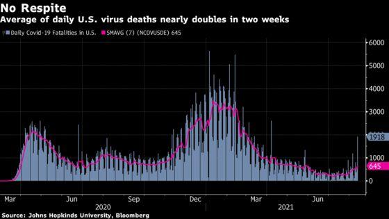 U.S. Said to Prepare Booster Plan; Deaths Double: Virus Update
