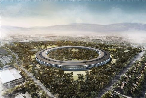 Jobs's Spaceship-Like Apple Offices to Arrive Later Than Planned