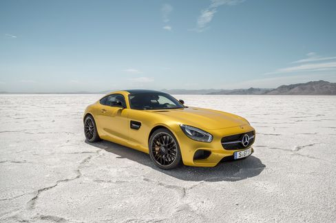 The 2016 Mercedes-AMG GT.