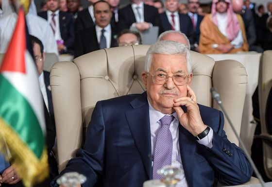 Abbas Compares Trump Map to Swiss Cheese in Combative UN Speech