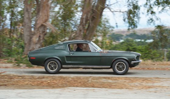 Steve McQueen's Bullitt Mustang Sells For $3.4 Million