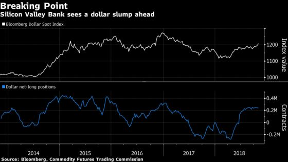 The Year's Top Currency Forecaster Bets on Weaker Dollar by 2019