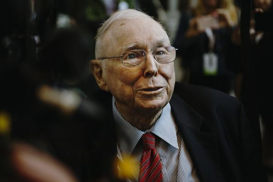 Berkshire's Charlie Munger Says Not Buying Google Was a Mistake