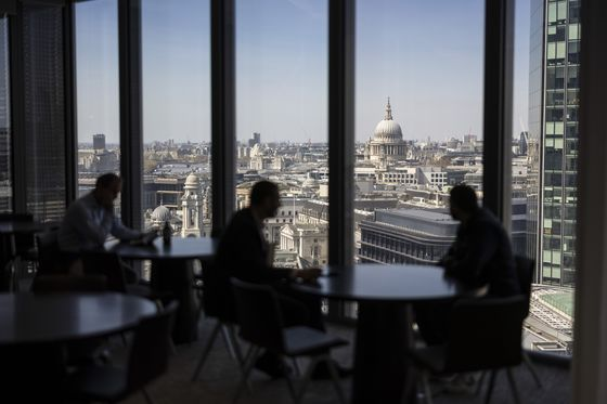 No Mingling: London's Slow and Awkward Return to the Office