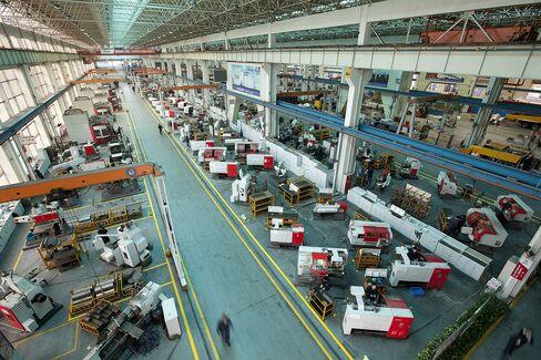 China Stocks Rise to 1-Week High; Machinery, Power Shares Gain