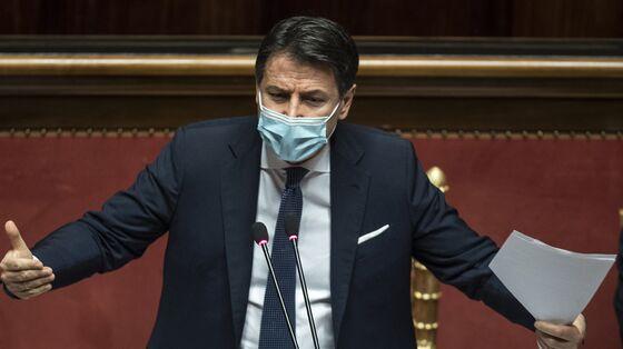 Italy Premier Battles On After Surviving Crucial Senate Vote