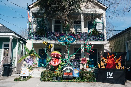 New Orleans Invents a Glorious New Tradition with 'Yardi Gras'