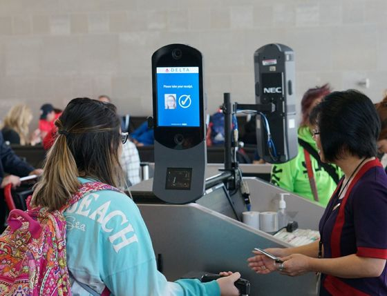 YourFace Will Be Your Passportat Delta Air Check Points
