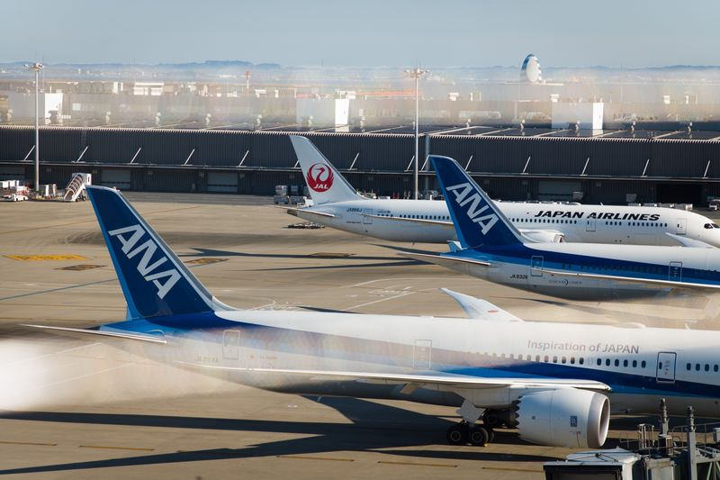 Operations at Haneda Airport Ahead of ANA and JAL Earnings