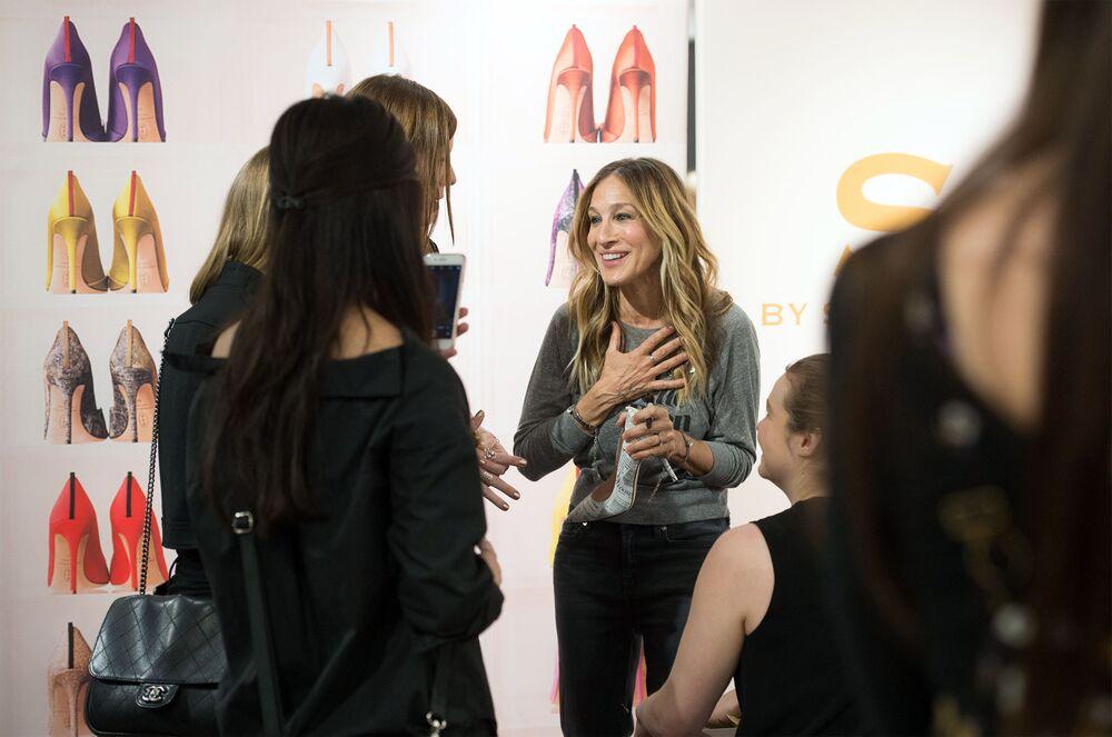 8a1e6997a6e Sarah Jessica Parker Is Building a Stiletto Empire - Bloomberg