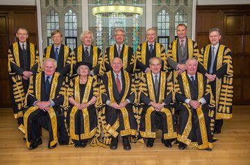 The 11 judges of the U.K. Supreme Court