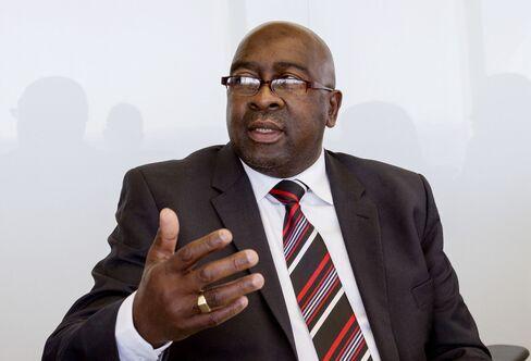 South Africa's Finance Minister Nhlanhla Nene
