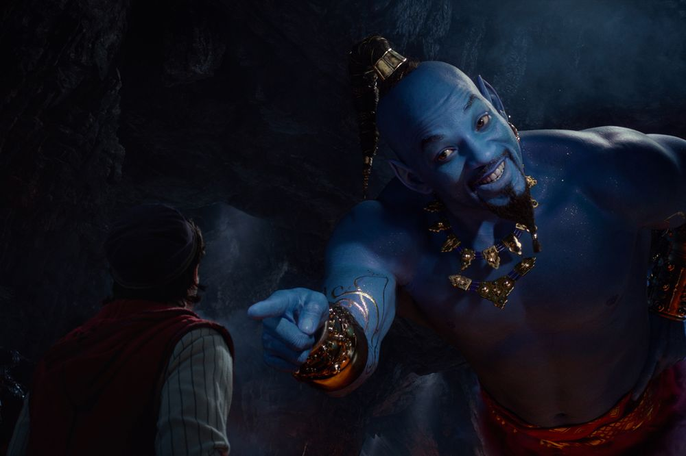 Whole New 'Aladdin' Takes No  1 Spot From 'John Wick' - Bloomberg