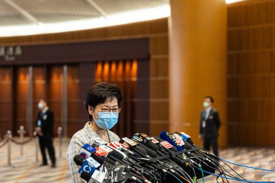 Hong Kong's Lam to Target Housing Crisis in Policy Address