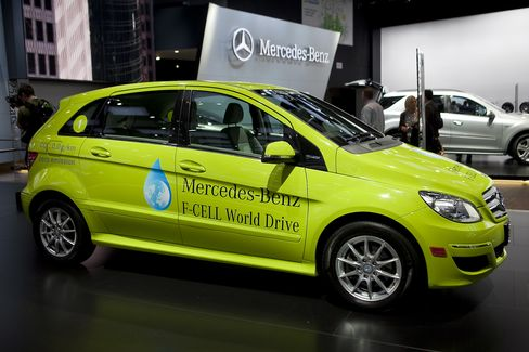 Daimler's Mercedes-Benz B-Class F-Cell vehicle