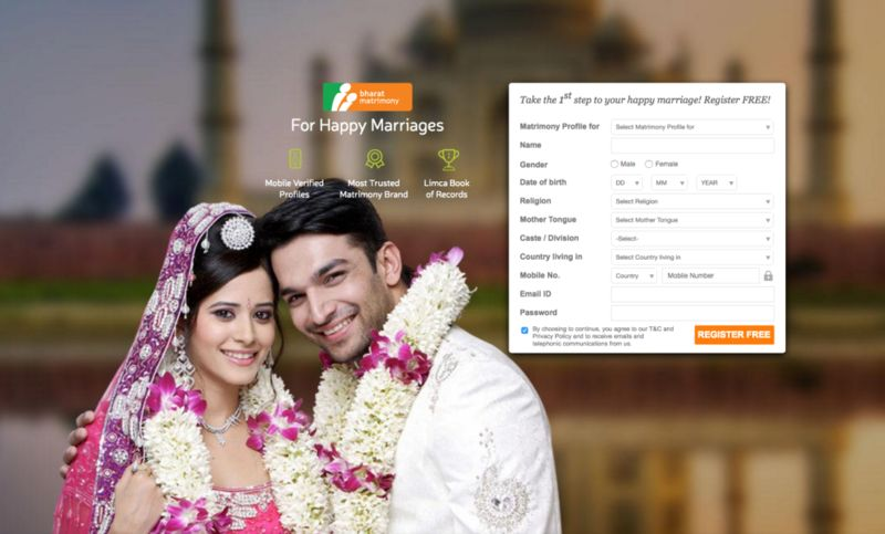 Free of cost dating site in india