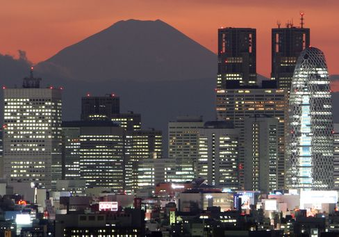 Japans Credit Rating Cut to AA- by S&P