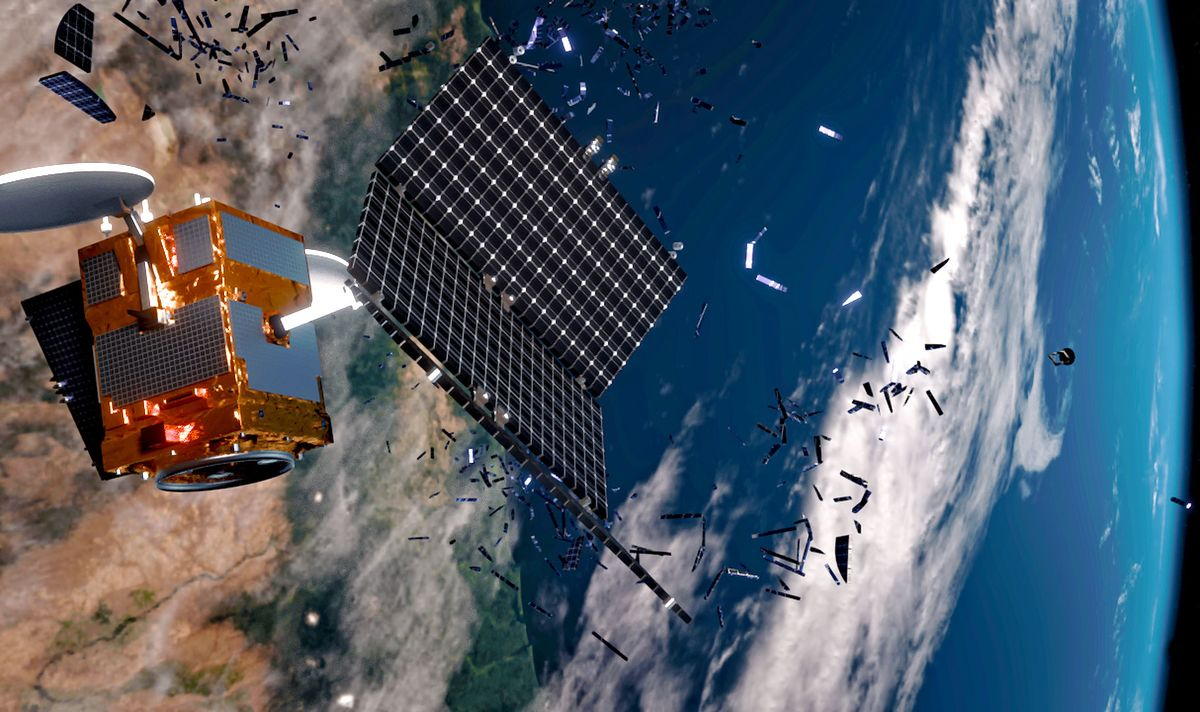 Space Garbage Solutions Could Help Fix Earth's Plastic Problem