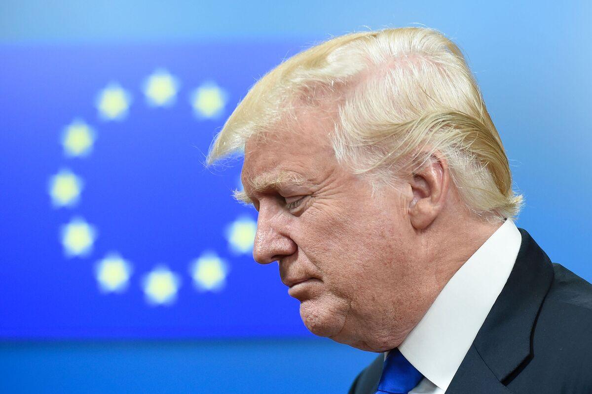 トランプ大統領、EUは米国の「敵」-貿易面で「われわれを利用」