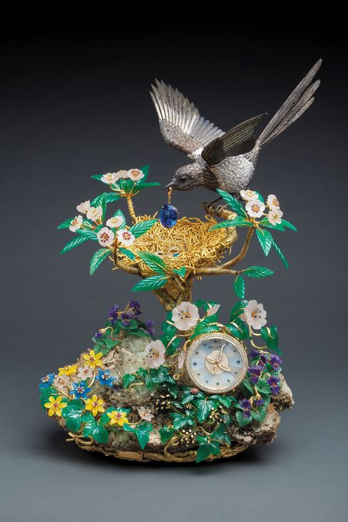 Patek Philippe Clock Sells for Record $2.3 Million in Hong Kong
