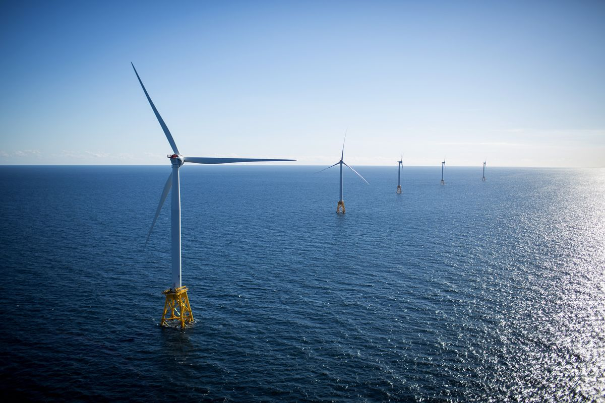bloomberg.com - Josh Saul - N.J. Amps Up Wind Fight, Overriding Beach Towns Balking at Farms