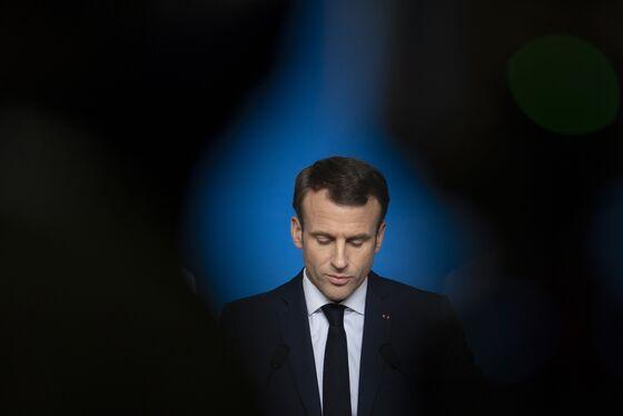 Macron Tangles With Allies to Regain Footing Ahead of EU Vote